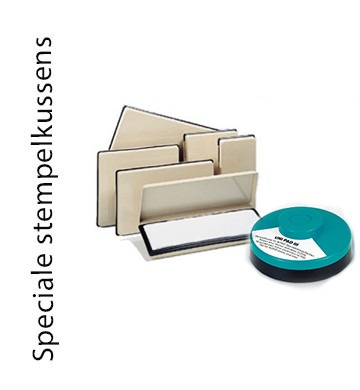 Speciale stempelkussens