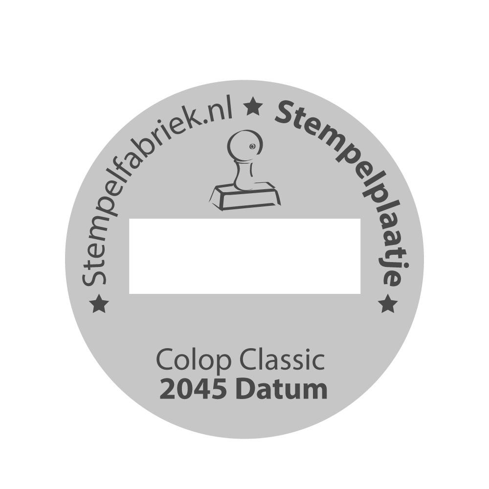 Colop Classic 2045/6 D
