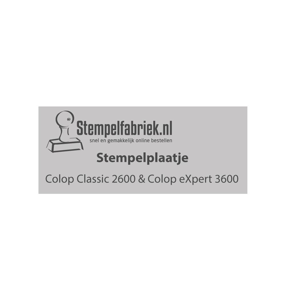 Colop 2600 & 3600