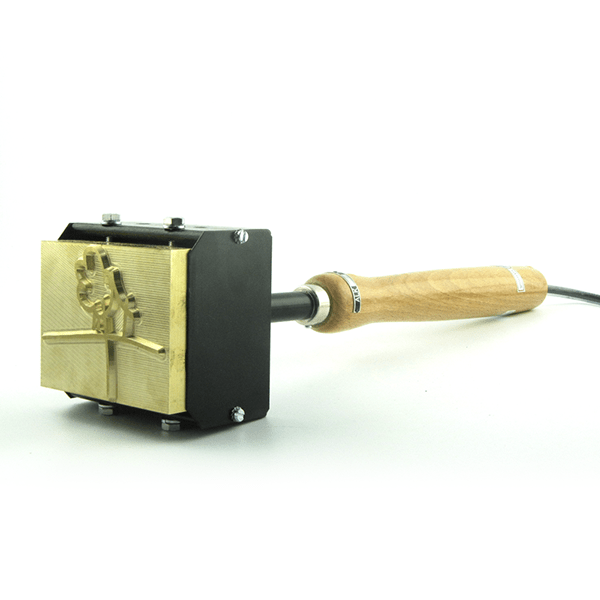 Brandstempel HLP 128 120x80mm. Stempelfabriek.nl