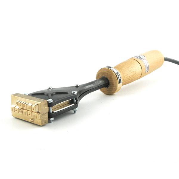 Brandstempel ALK 6 75x50mm. Stempelfabriek.nl