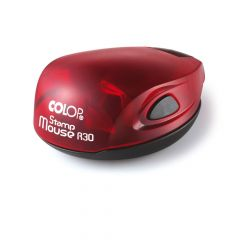 Stamp Mouse R30 Rood - Stempelfabriek.nl