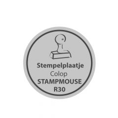 Stempelplaatje Colop Stamp Mouse R30