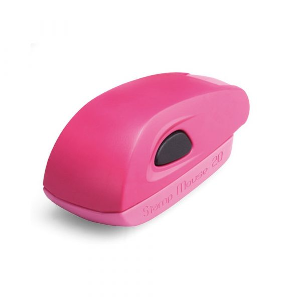 Stamp Mouse 20 Pink - Stempelfabriek.nl