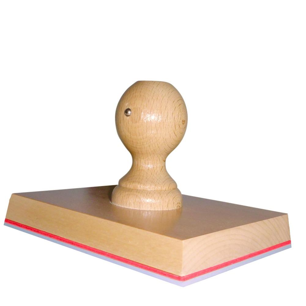 Grote stempel 160x120 voor craftpapier en dozen