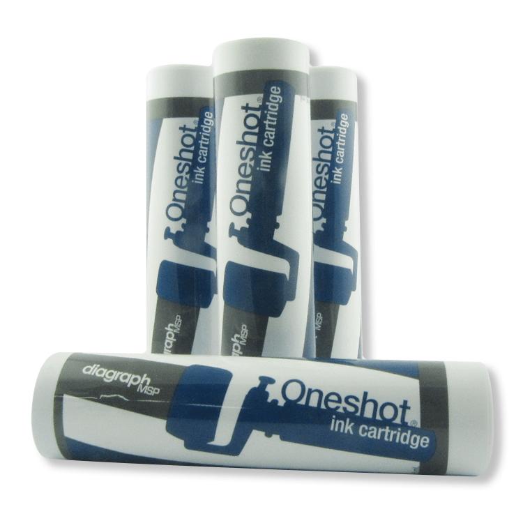 Oneshot inktpatroon blauw