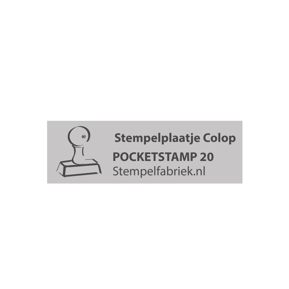 Colop Pocket Stamp 20