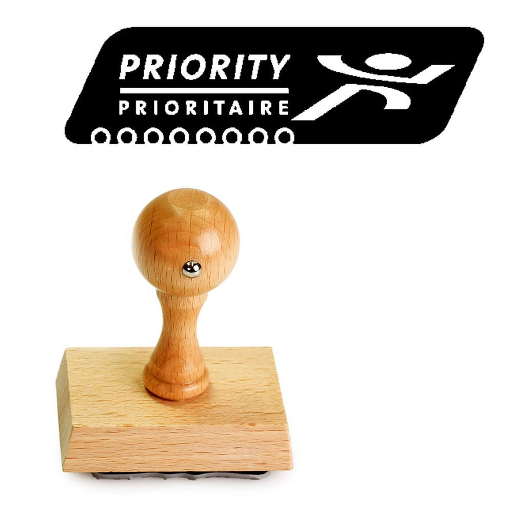 Priority stempel PostNL