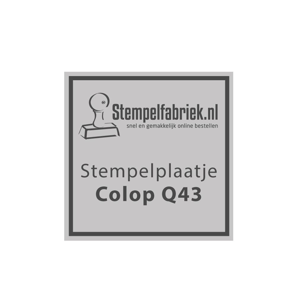 Colop Printer Q43