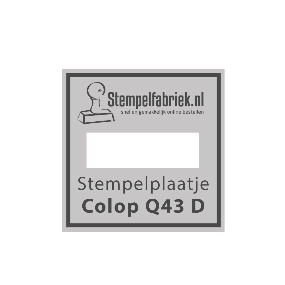 Colop Printer Q43 D