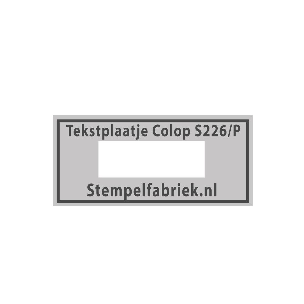 Colop printer 226/P