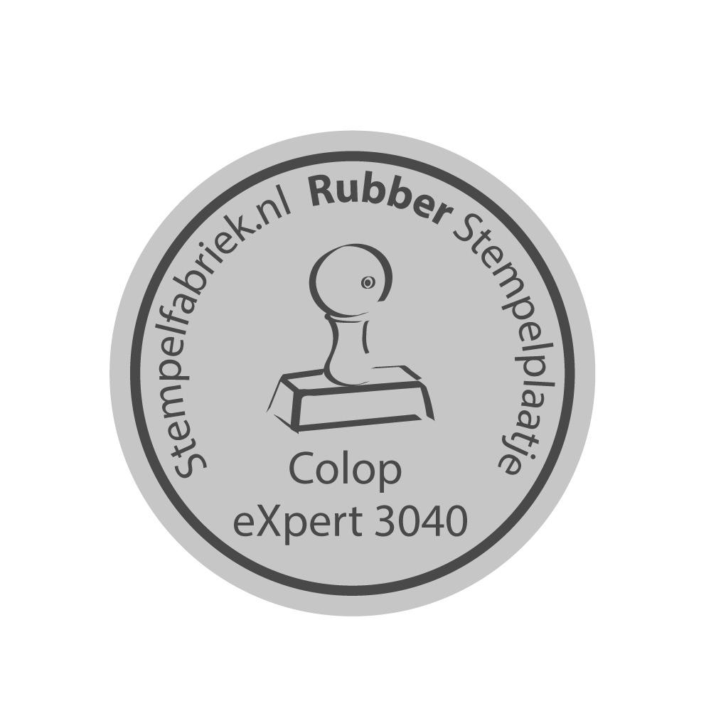 Stempelplaat Colop eXpert 3040