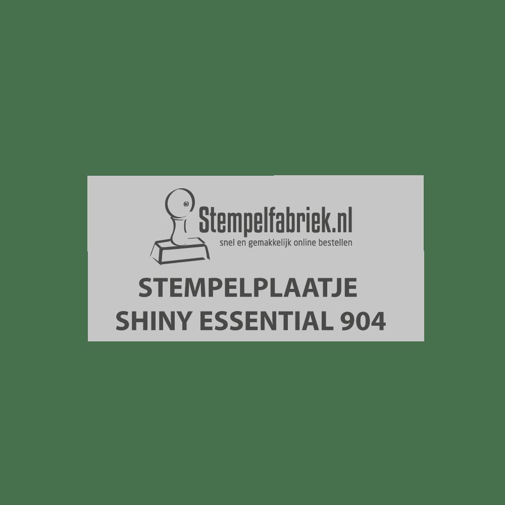 Tekstplaatje Shiny Essential 904