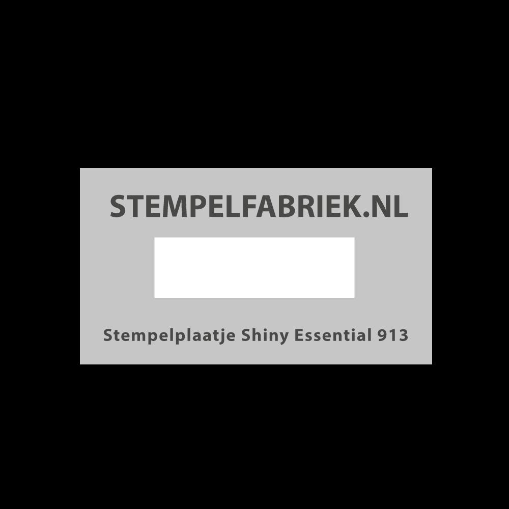 Tekstplaatje Shiny Essential 913
