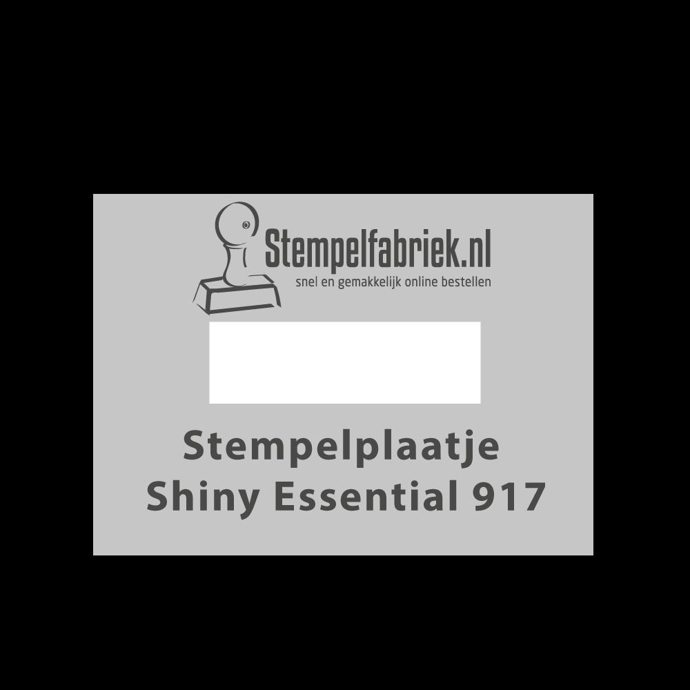 Tekstplaatje Shiny Essential 917