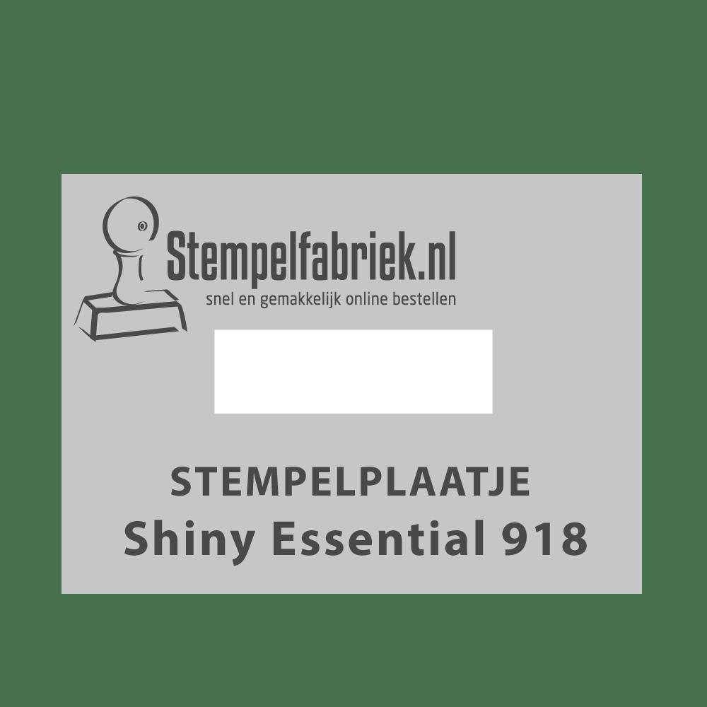 Tekstplaatje Shiny Essential 918