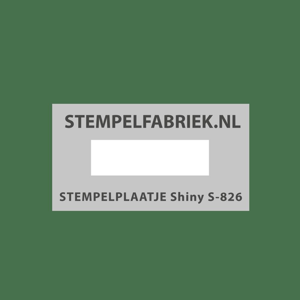 Tekstplaatje Shiny Printer S826D