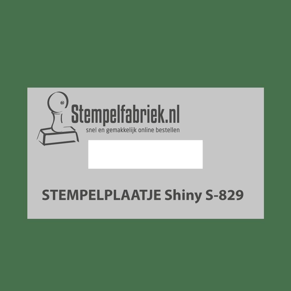 Tekstplaatje Shiny Printer S829D