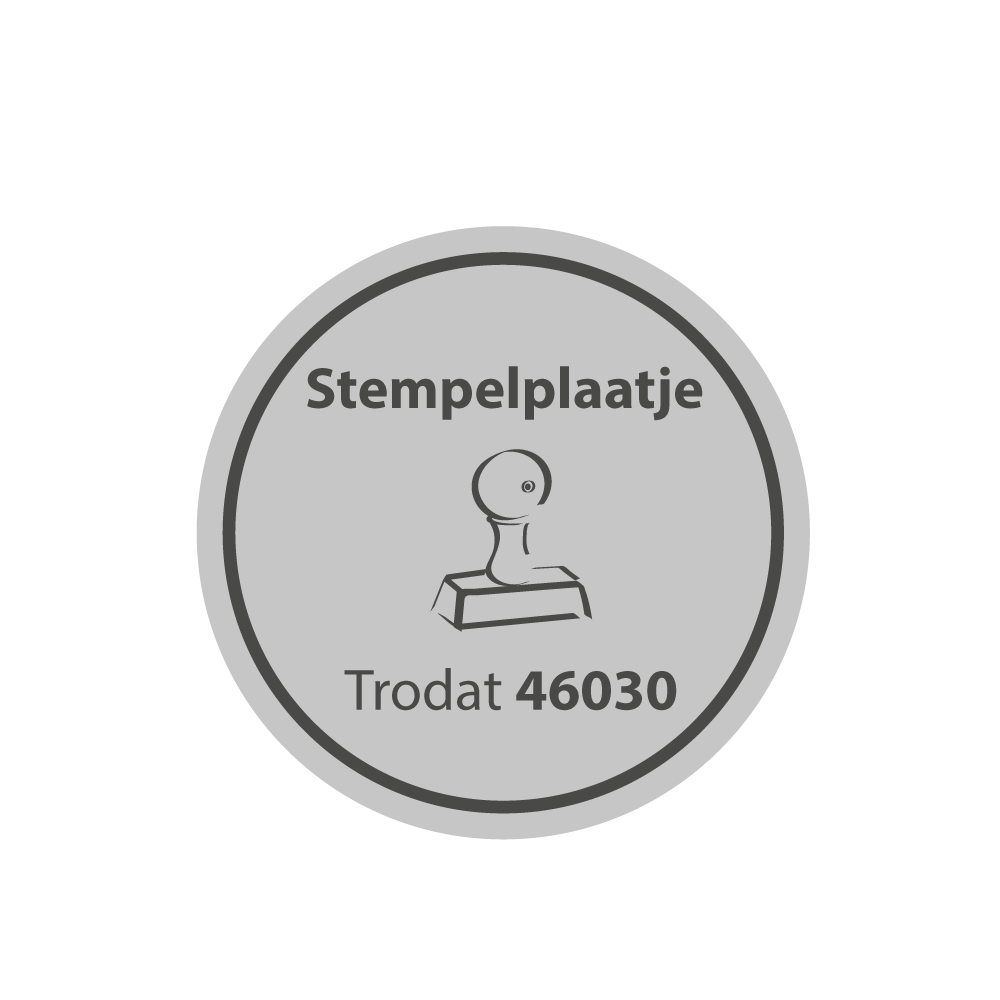 Stempelplaat Trodat Printy 46030