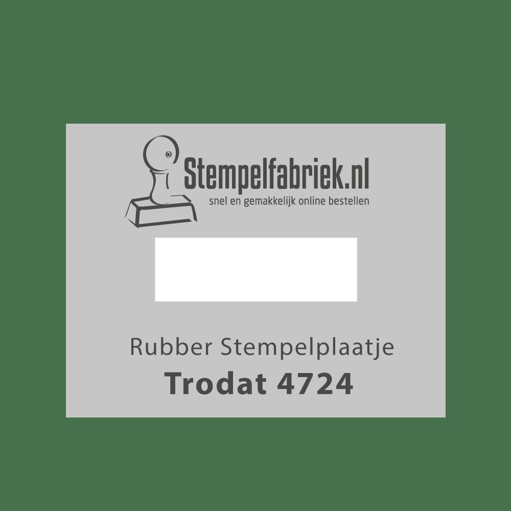 Stempelplaat Trodat Printy 4724