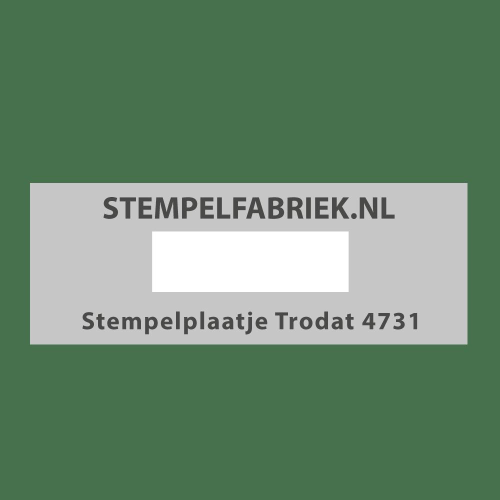 Stempelplaat Trodat Printy 4731