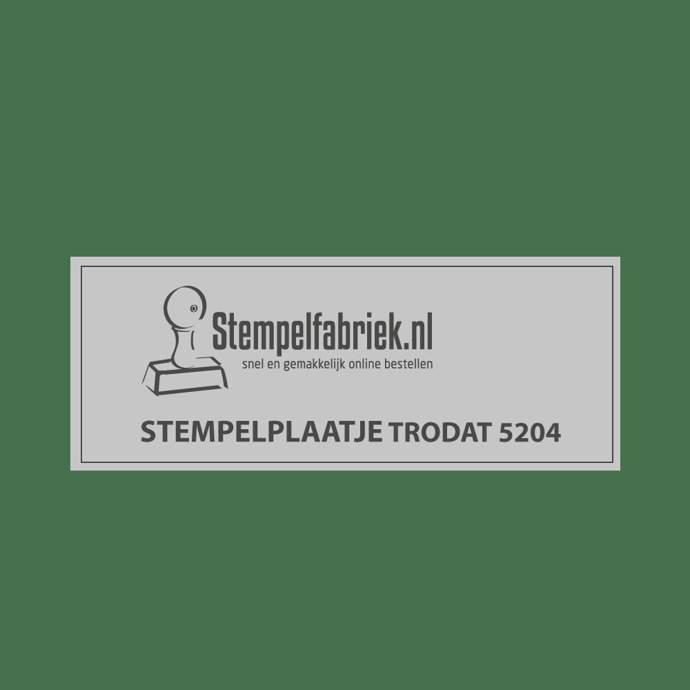 Stempelplaat Trodat Professional 5204