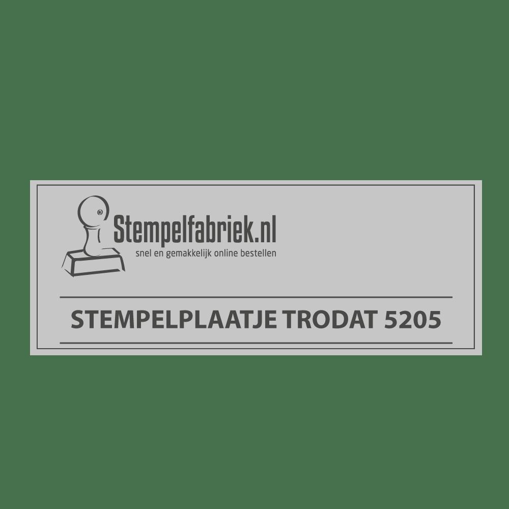 Stempelplaat Trodat Professional 5205