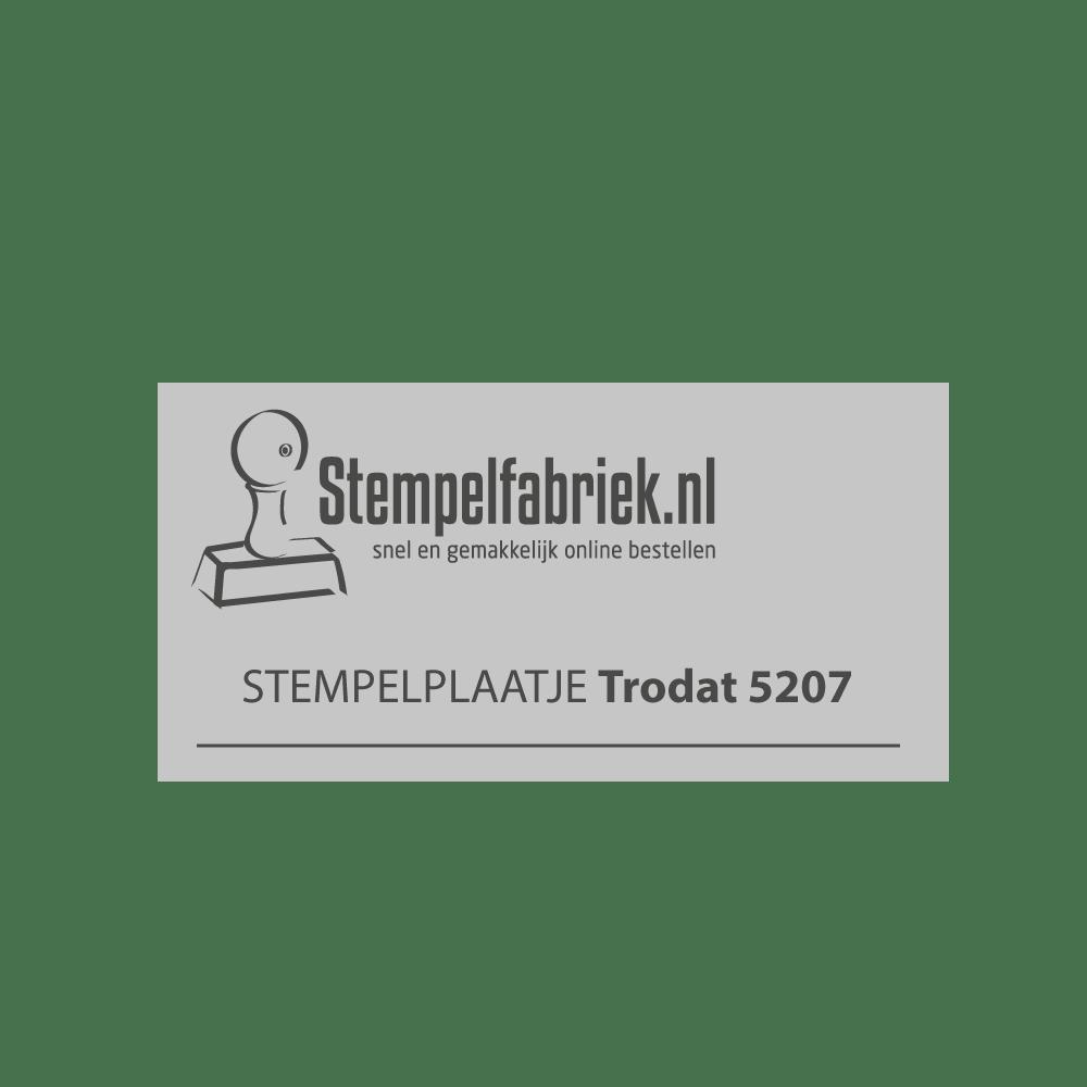 Stempelplaat Trodat Professional 5207