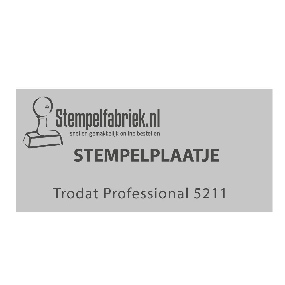 Stempelplaat Trodat Professional 5211