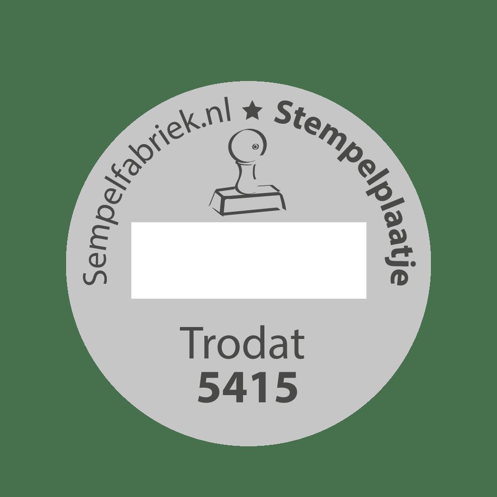Stempelplaat Trodat Professional 5415