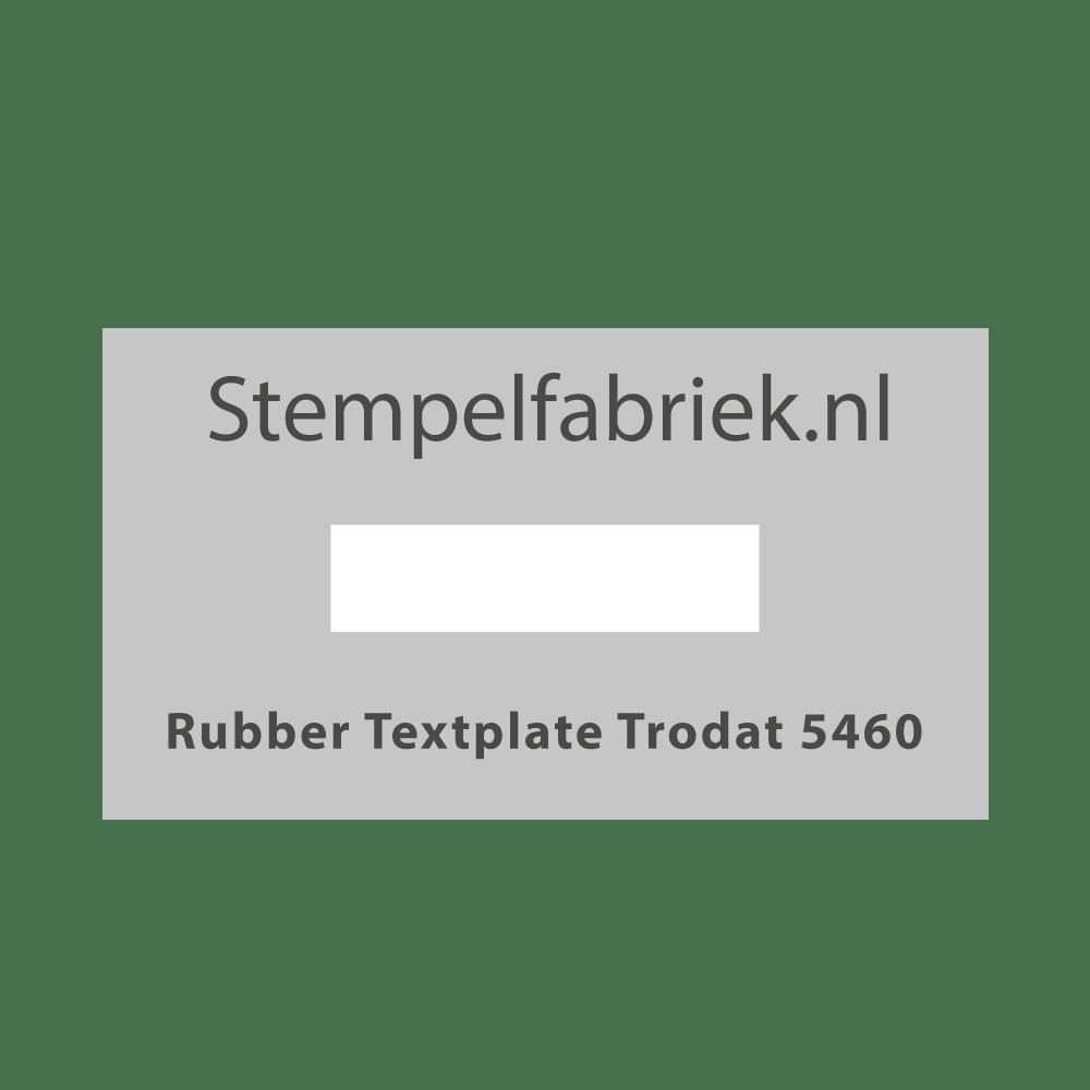 Stempelplaat Trodat Professional 5460