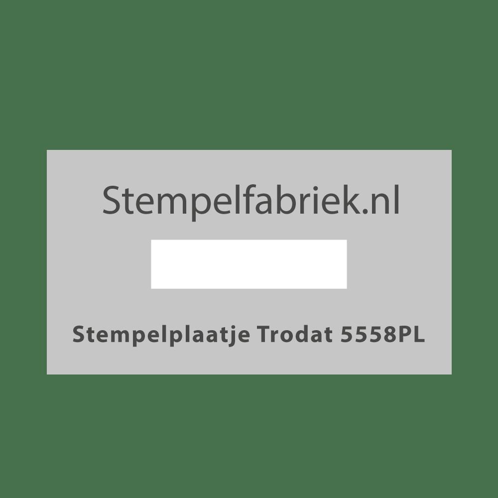 Stempelplaat Trodat Professional 5558/PL