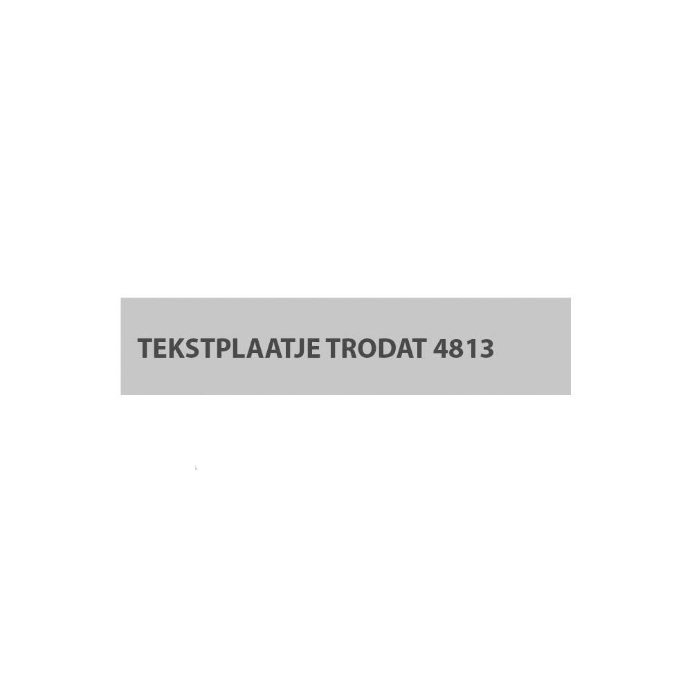 Stempelplaat Trodat Printy 4813