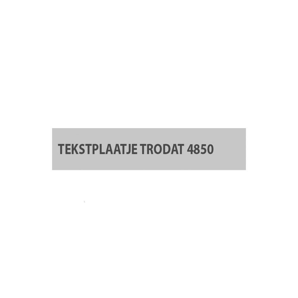 Stempelplaat Trodat Printy 4850