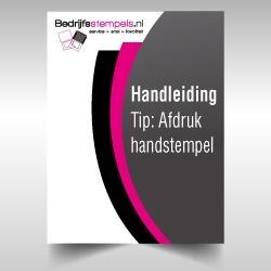 Handleiding afdruk maken handstempel