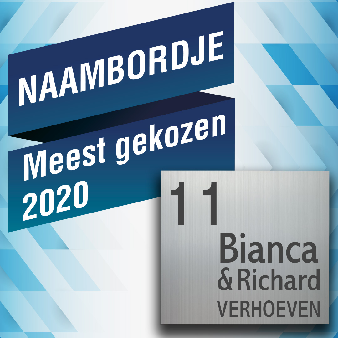 Naambordje 2020
